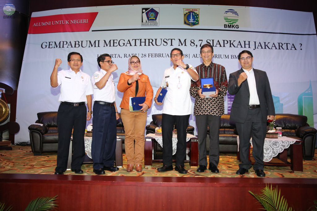 Megathrust Mengancam Jakarta, Uno: Ingin Kerjasama dengan BMKG