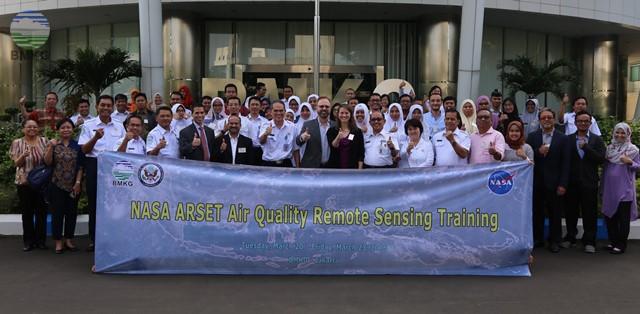 BMKG-NASA ARSET Air Quality Remote Sensing Training