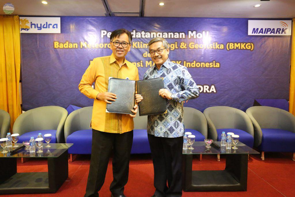 Weather Based Insurance, BMKG MoU dengan Reasuransi MAIPARK