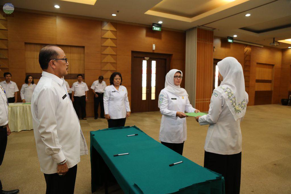 Sertijab di Lingkungan Kesekretariatan Utama