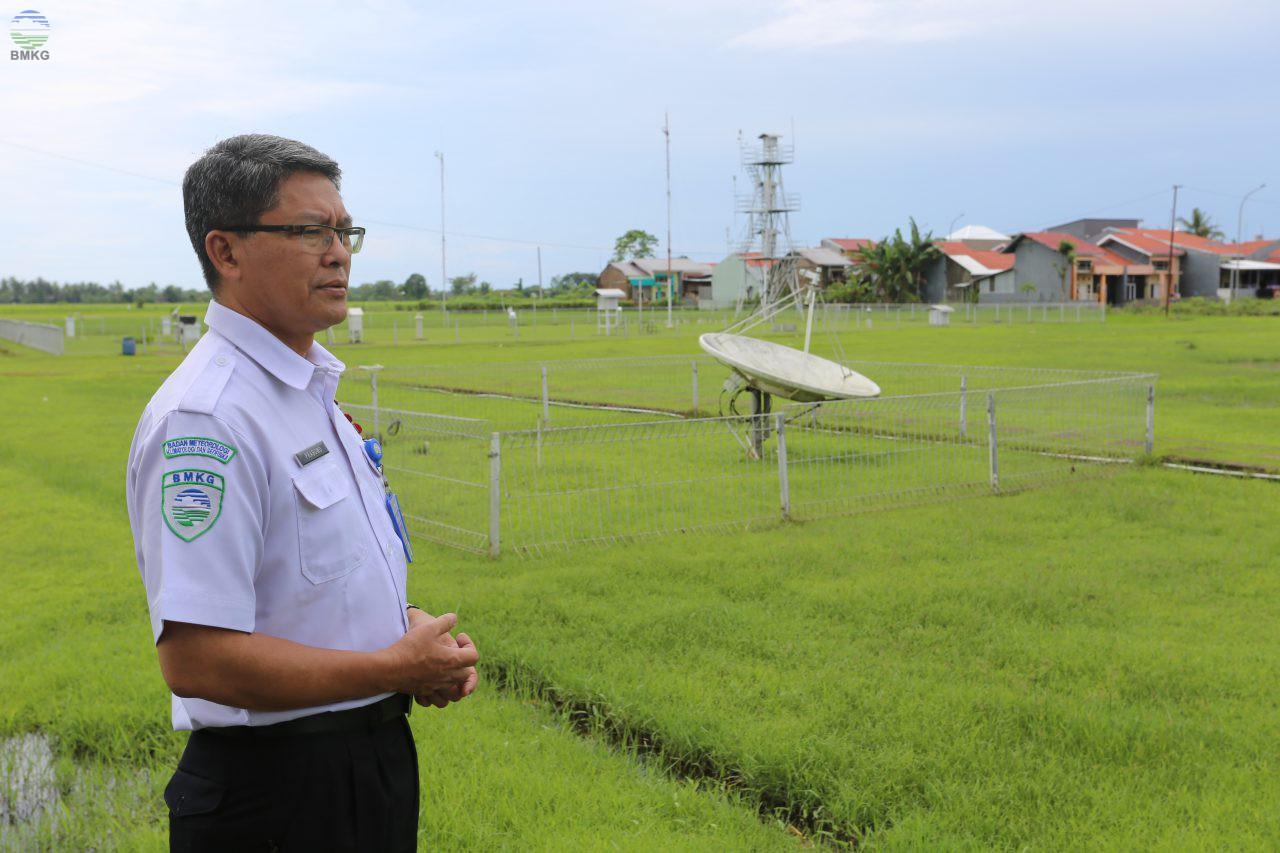 Kunjungan Deputi Bidang Meteorologi ke Stasiun BMKG Wilayah Makassar