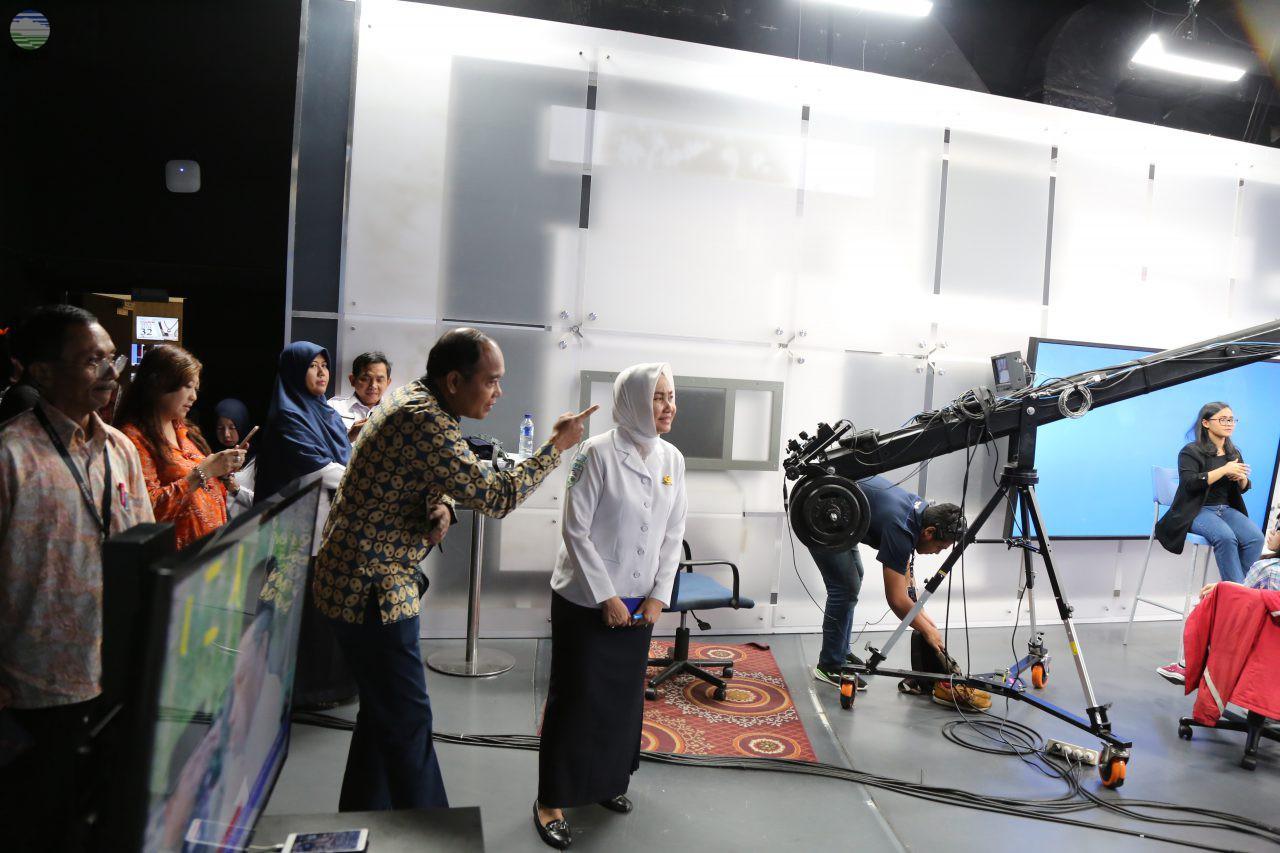 Kepala BMKG Melakukan Media Visit ke i-News