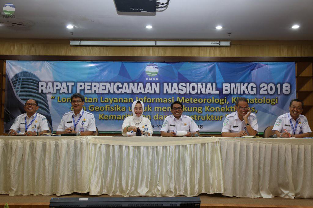 Rapat Perencanaan Nasional BMKG 2018