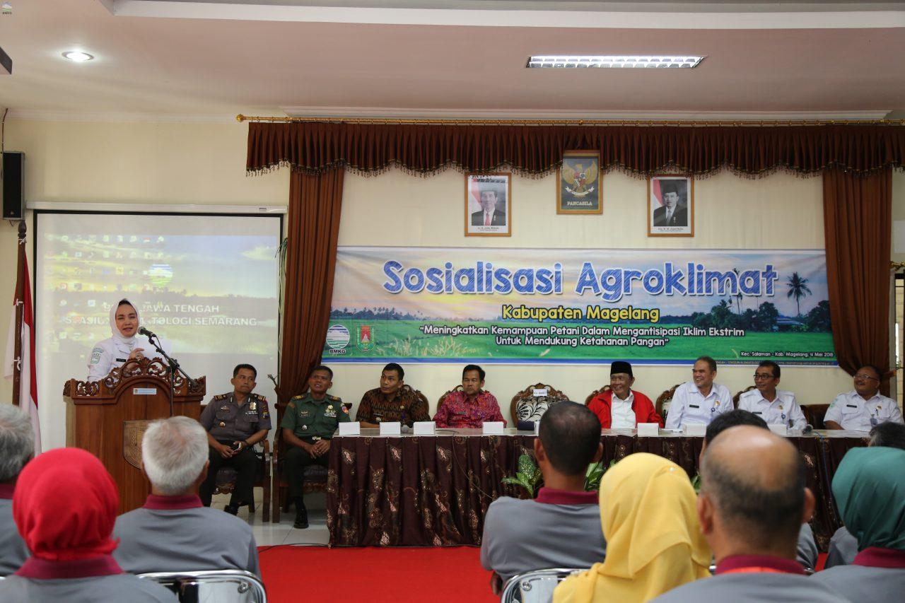 Sekolah Lapang Iklim Kolaborasi BMKG dan Masyarakat  Tingkatkan Produksi Pangan Indonesia