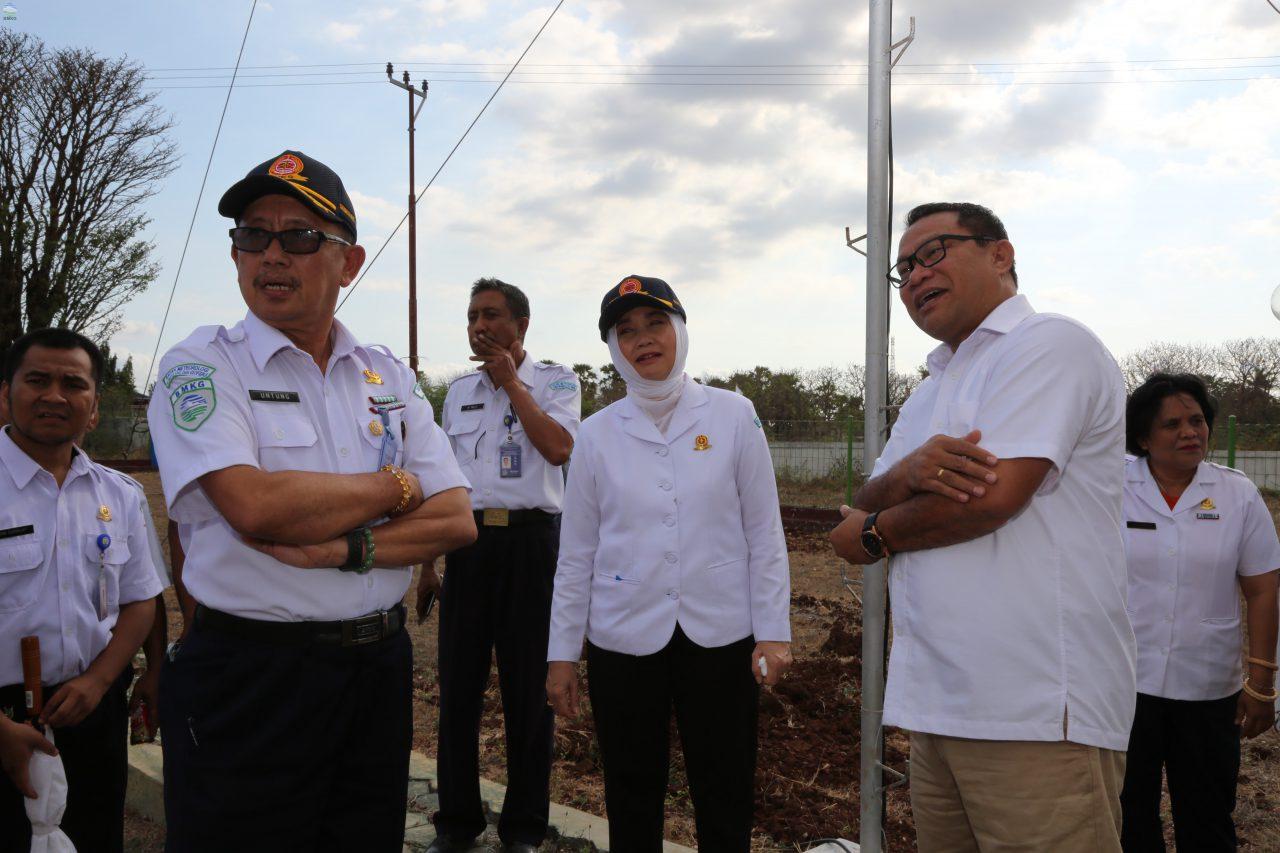 Ketua Komisi V DPR RI Kunjungi Stasiun Klimatologi Kupang