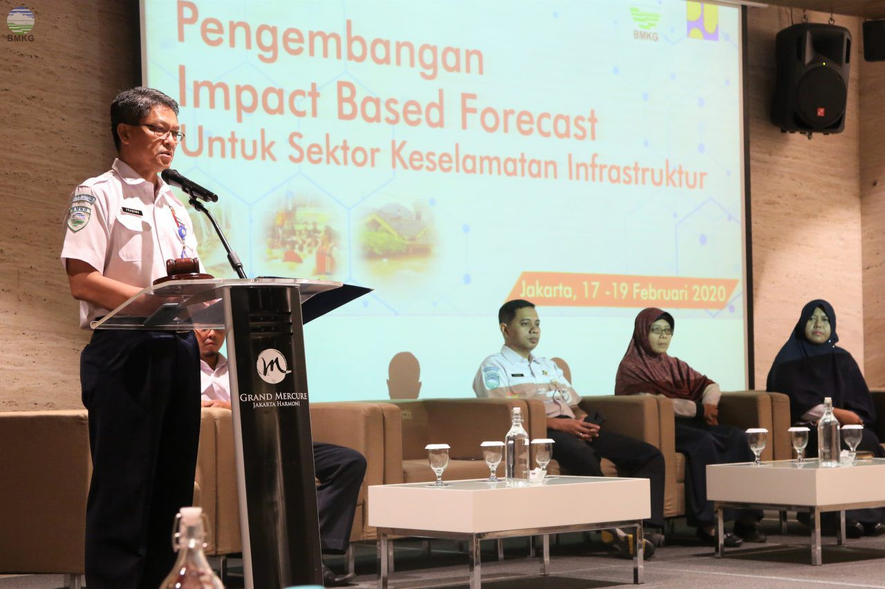 BMKG Gelar FGD Bahas Pengembangan Prakiraan Cuaca Berbasis Dampak Sektor Infrastruktur