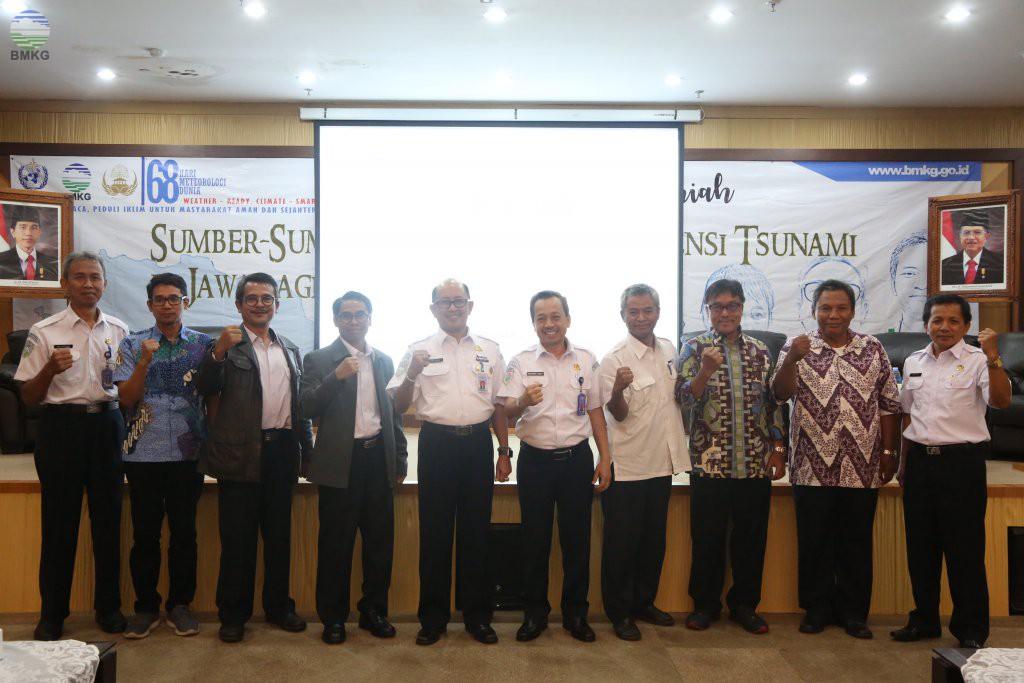 Seminar Ilmiah Sumber-sumber Gempabumi dan Tsunami di Jawa Bagian Barat
