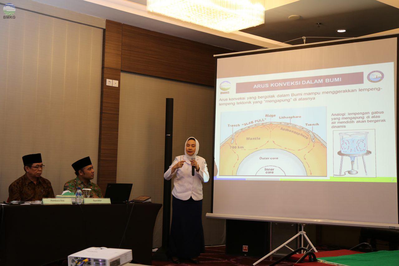 Kepala BMKG Hadiri Seminar Internasional Agama dan Sains