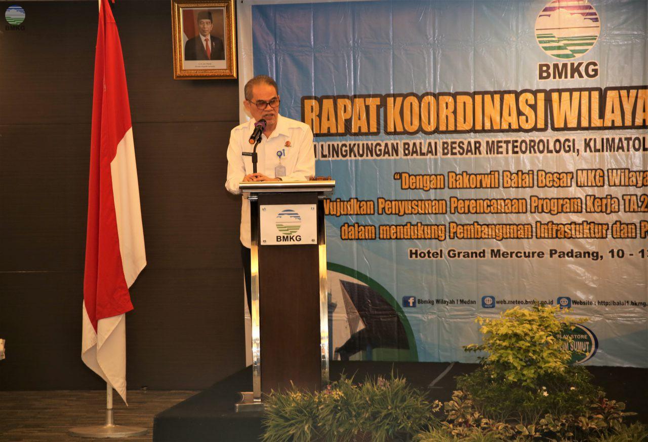 Rakorwil BBMKG Wilayah I Medan Mendukung Pembangunan Infrastruktur dan Pengembangan SDM BMKG Berkualitas