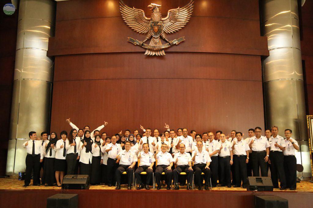 KBMKG Menutup Diklat PIM IV Angkatan I Tahun 2017