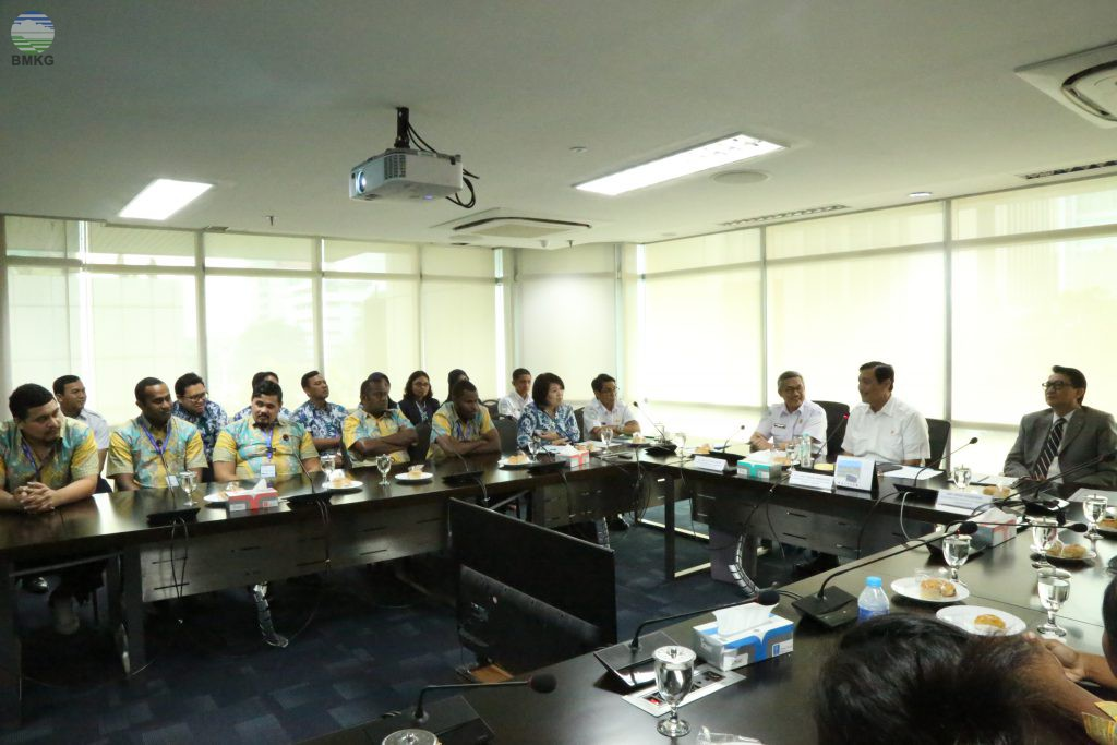 KBMKG Dampingi Peserta Training UN ESCAP Bertemu Menteri Koordinator Bidang Kemaritiman