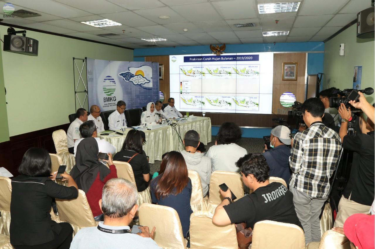 Jumpa Pers Terkait Prediksi Iklim Tahun 2020 dan Update Gempabumi yang Melanda Mindanao