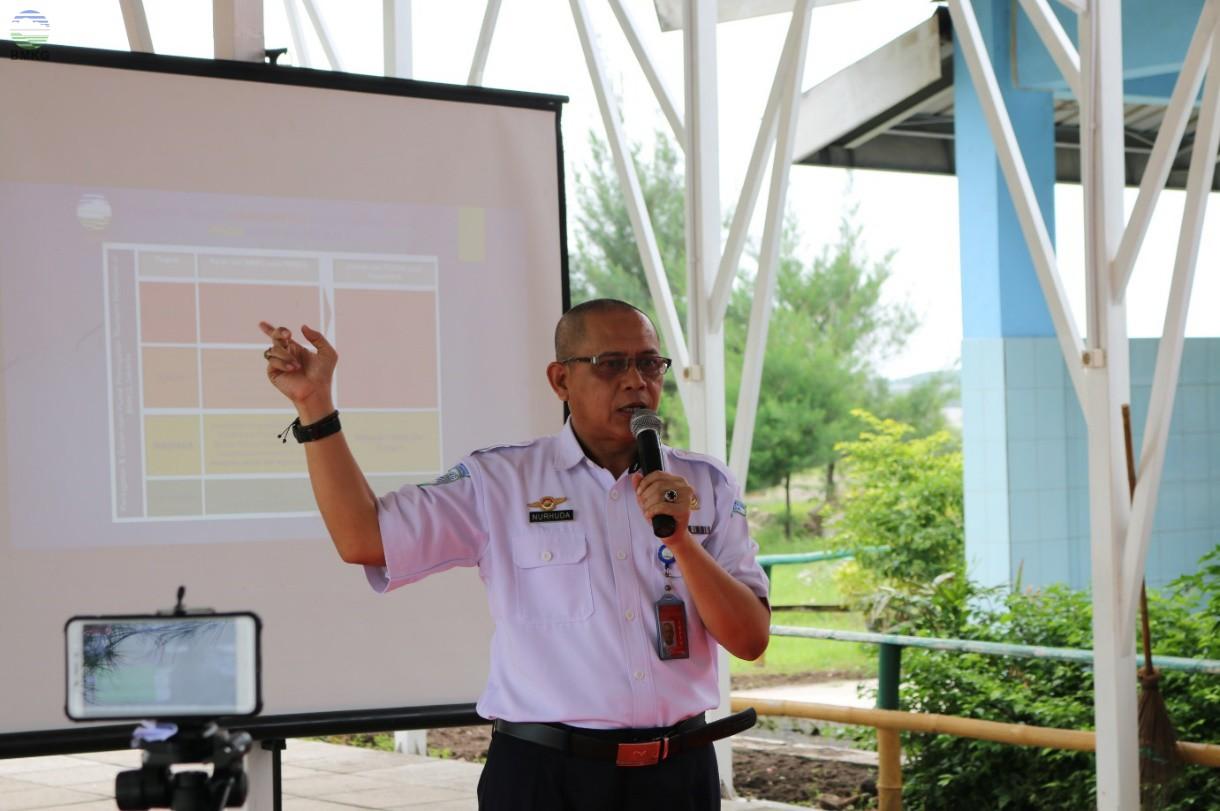 Kasmet Juanda Surabaya Mensosialisasikan Mitigasi Gempa Bumi & Tsunami