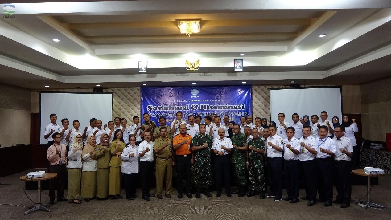 Sosialisasi & Diseminasi Info MKG Sebagai Dukungan Kegiatan Multisektor di Provinsi Jawa Timur