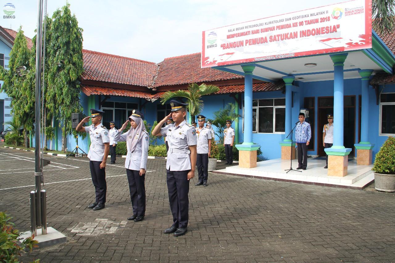 Peringatan Hari Sumpah Pemuda di Balai Besar MKG Wilayah II