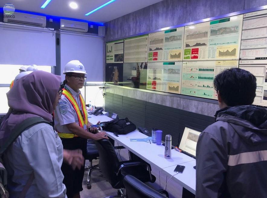 Deputi Bidang Meteorologi Meninjau Produk Layanan Informasi Cuaca dan Iklim BMKG di PT Berau Coal