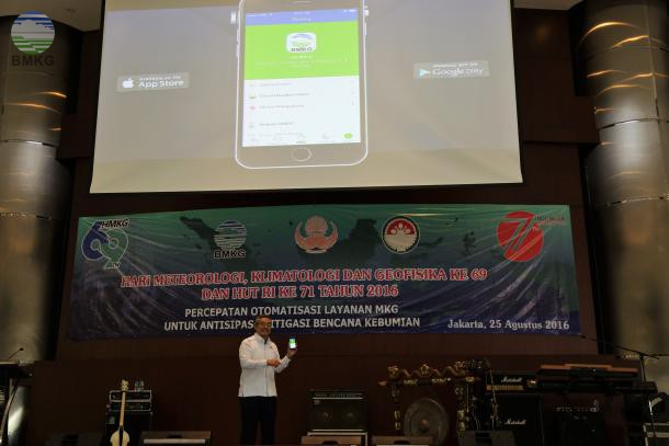 BMKG Goes Mobile Through iOS and ANDROID