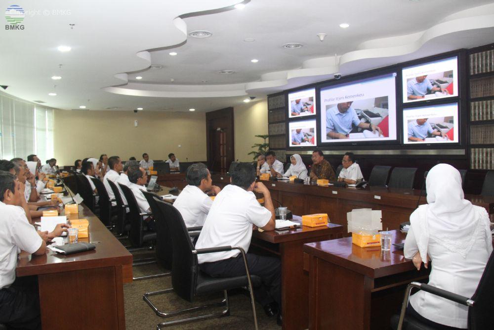 Workshop Inspektorat BMKG Untuk Tingkatkan Kompetensi APIP