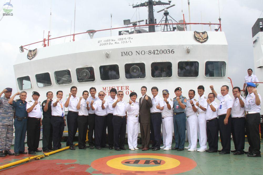 BMKG Dukung Poros Maritim dengan Observasi Laut Melalui Kegiatan Ina- Prima