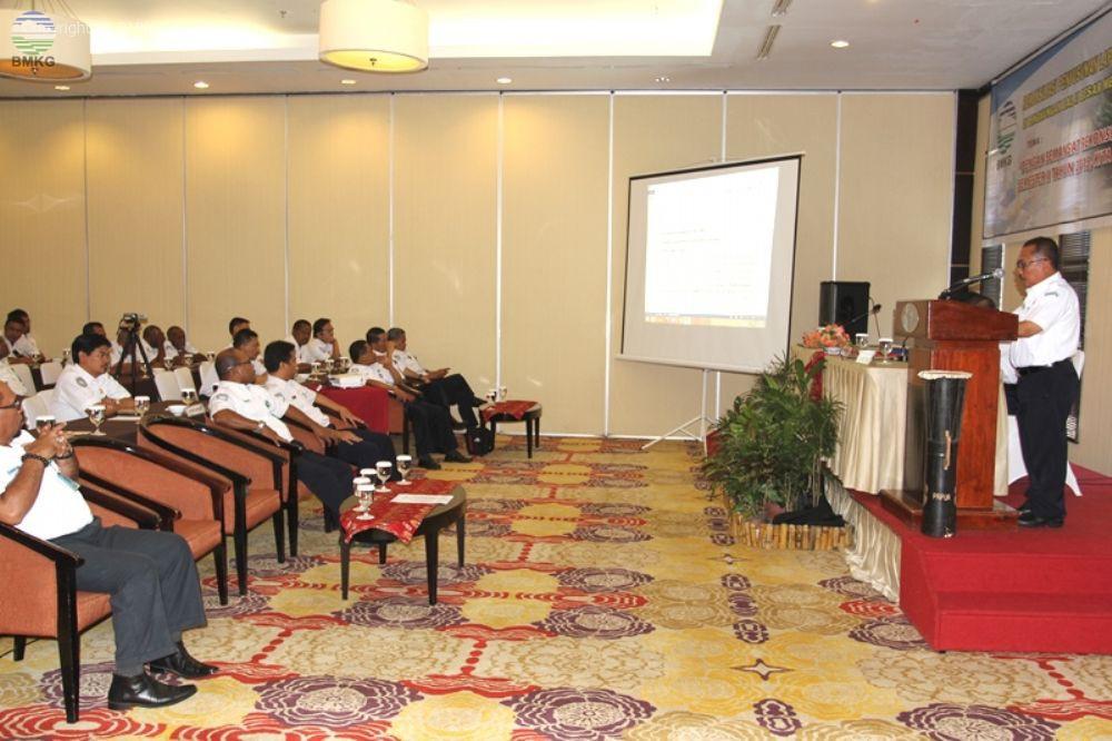 Rekonsiliasi Keuangan BMKG di Balai Besar Wilayah V