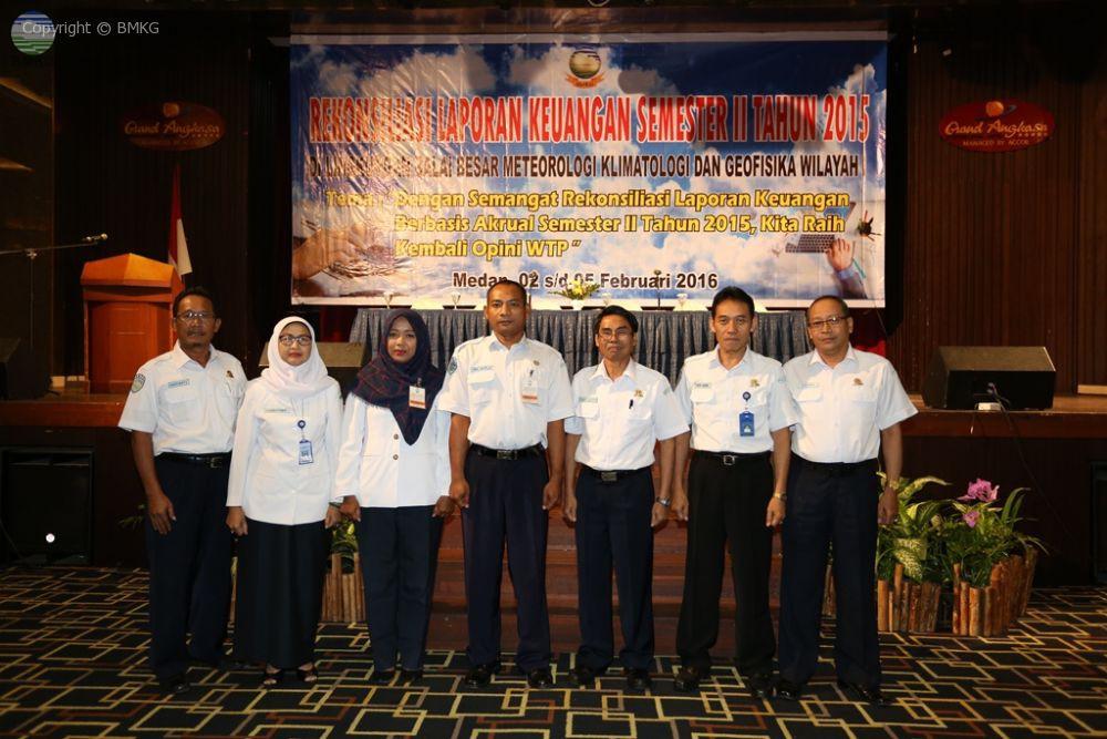Raih Opini WTP, BBMKG Medan Lakukan Rekonsiliasi Keuangan