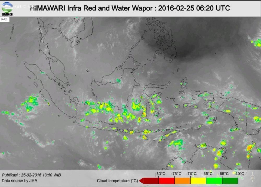 Press Release; Waspada Hujan Lebat Dalam Beberapa Hari Kedepan