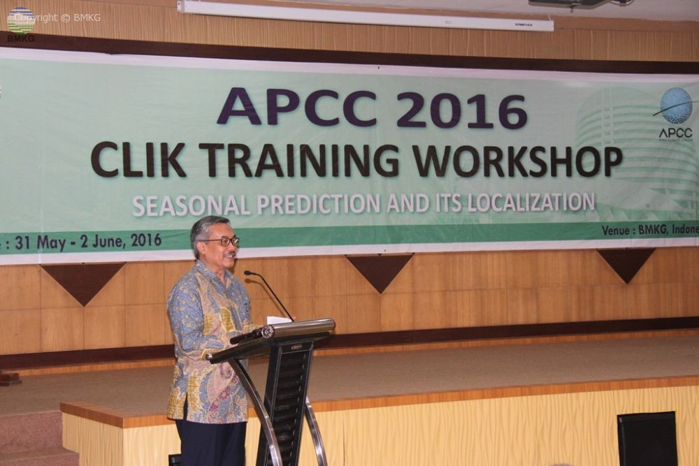 BMKG dan APCC Korea Selenggarakan Training on Clik