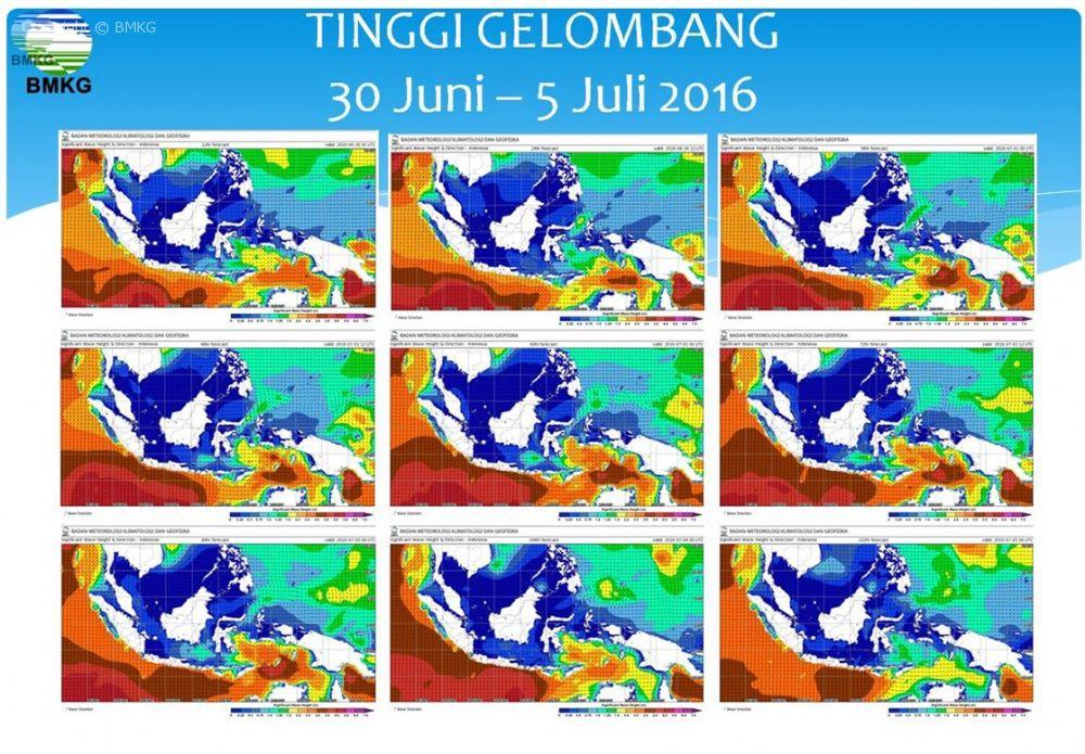 Press Release Waspada Gelombang Tinggi di Jalur Mudik Laut Tanggal 1 Sampai 5 Juli 2016