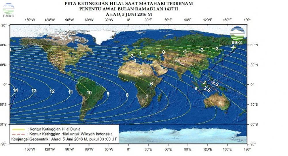 Penentuan Bulan Ramadhan 1437 H
