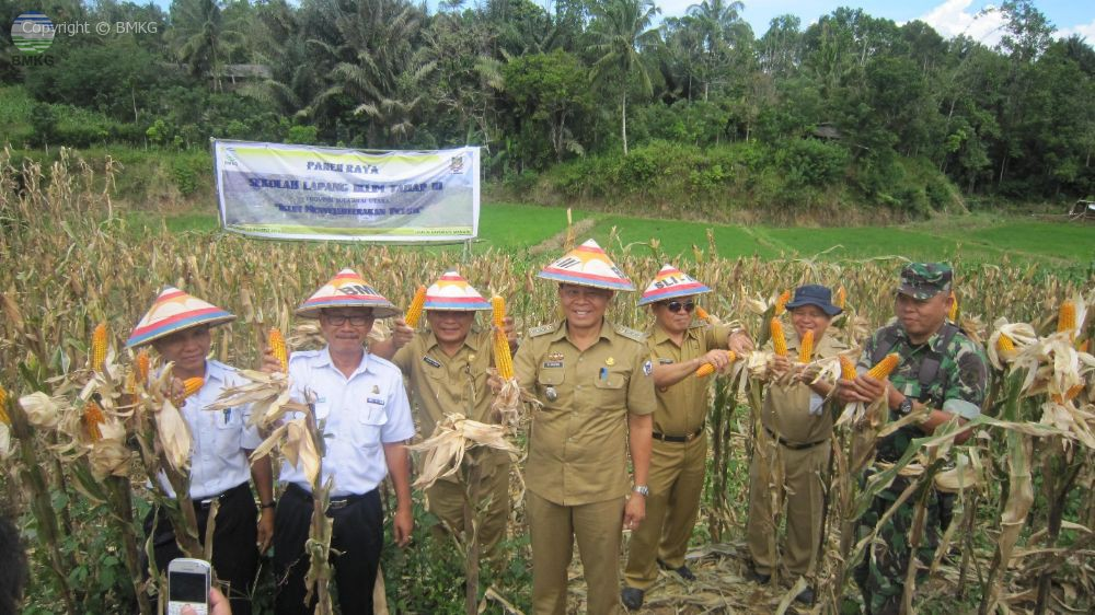 Panen Raya SLI Tahap 3 Tahun 2016 Provinsi Sulawesi Utara