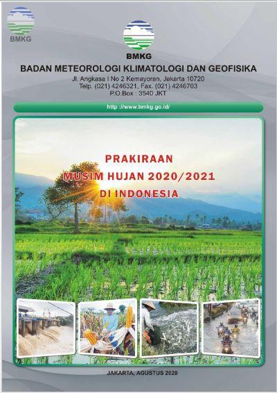 Prakiraan Musim Hujan Tahun 2020/2021 di Indonesia