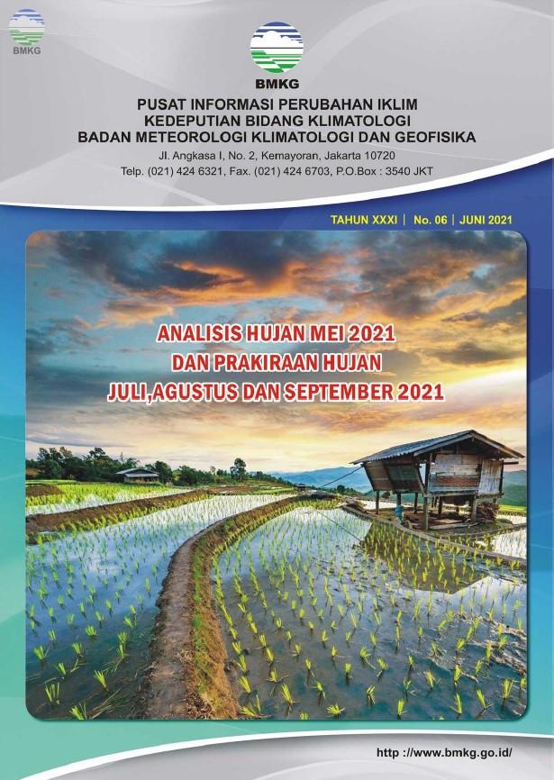 Buletin Hujan Bulanan di Indonesia - Updated Juni 2021