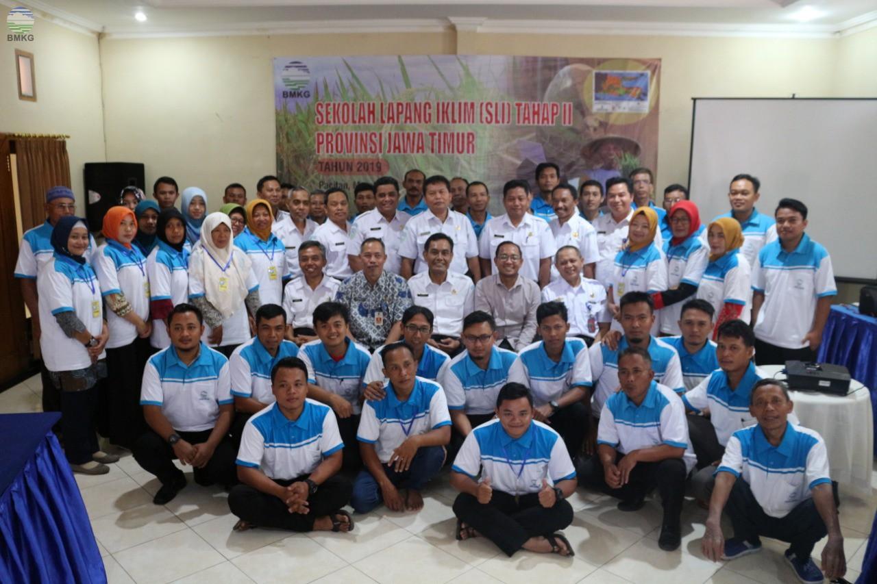 Sekolah Lapang Iklim Tahap II Provinsi Jawa Timur Tahun 2019