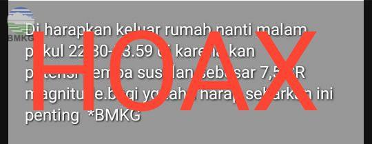 Penjelasan Bmkg Terkait Isu Potensi Gempa Banten Susulan Sebesar 7 5 Sr Bmkg