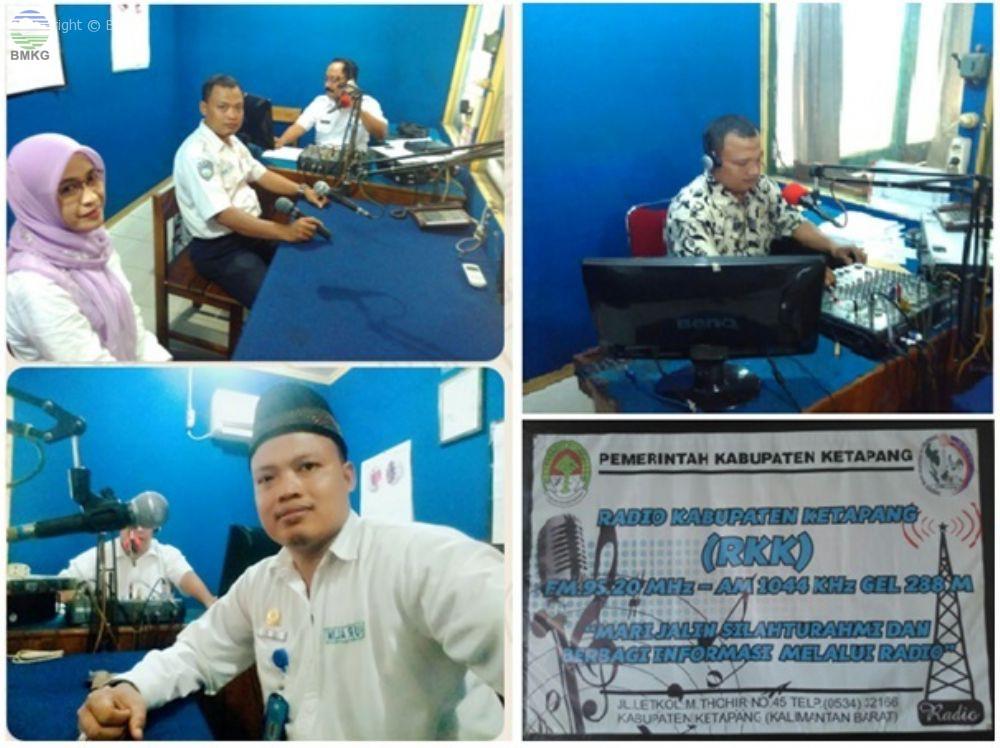 BMKG Ketapang Aktif dalam Siaran Radio Publik