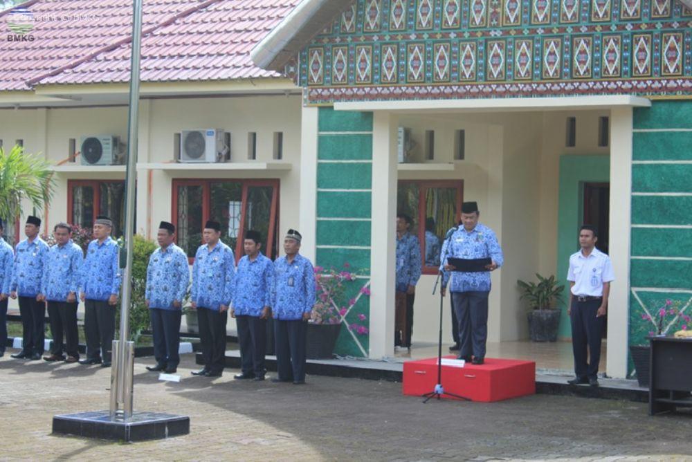 Upacara Hari Kesaktian Pancasila di UPT Wilayah Provinsi Sumatera Barat dan Provinsi Jambi