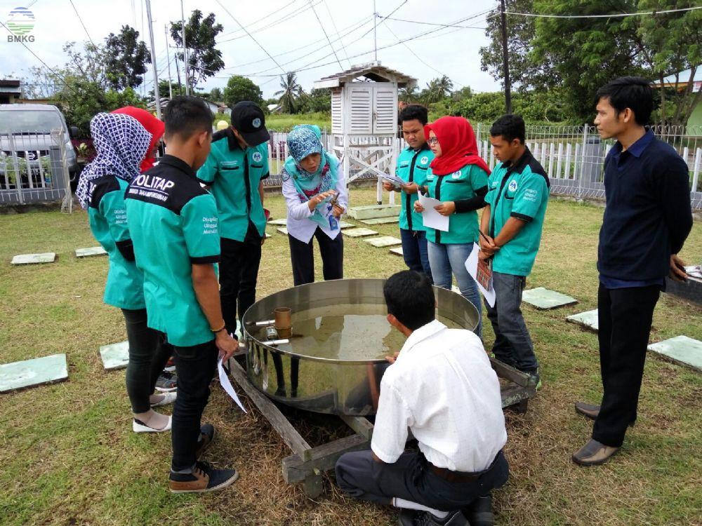 Stamet Rahadi Osman Mendukung Kegiatan PKL Mahasiswa Polnep Ketapang