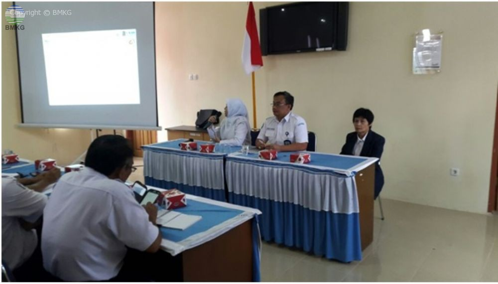BMKG Pusat Gelar Sosialisasi SKP Online dan Situkin Bagi UPT BMKG Sumatera Barat