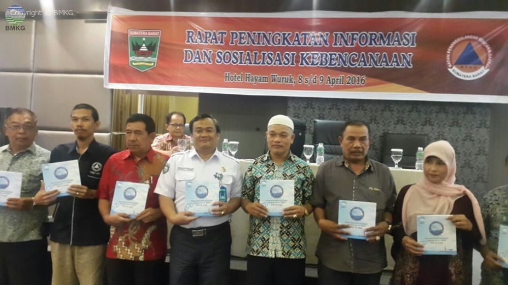 Peningkatan Layanan Informasi MKKuG Bagi Para Pemangku Kebencanaan di Sumatera Barat