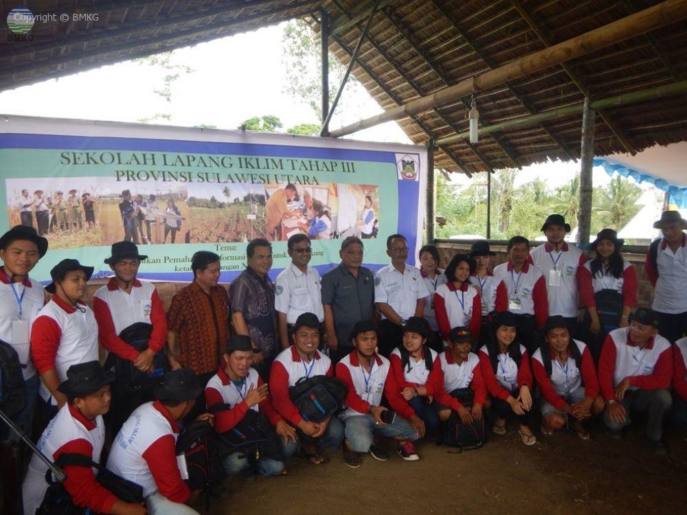 Sekolah Lapang Iklim Tahap III Provinsi Sulawesi Utara