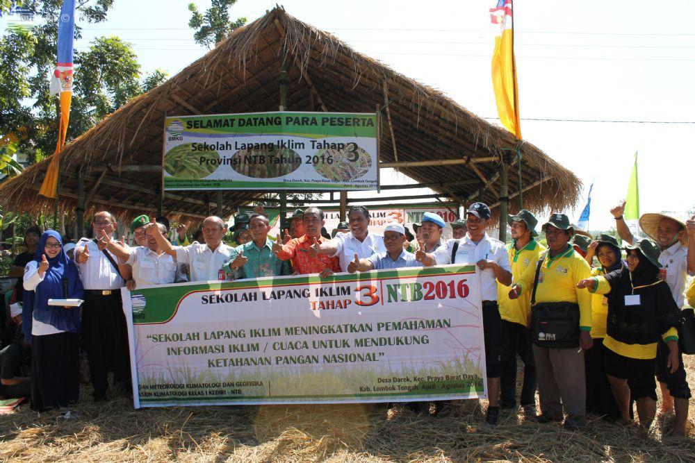 Sekolah Lapang Iklim Tahap 3 Tahun 2016 Provinsi Nusa Tenggara Barat