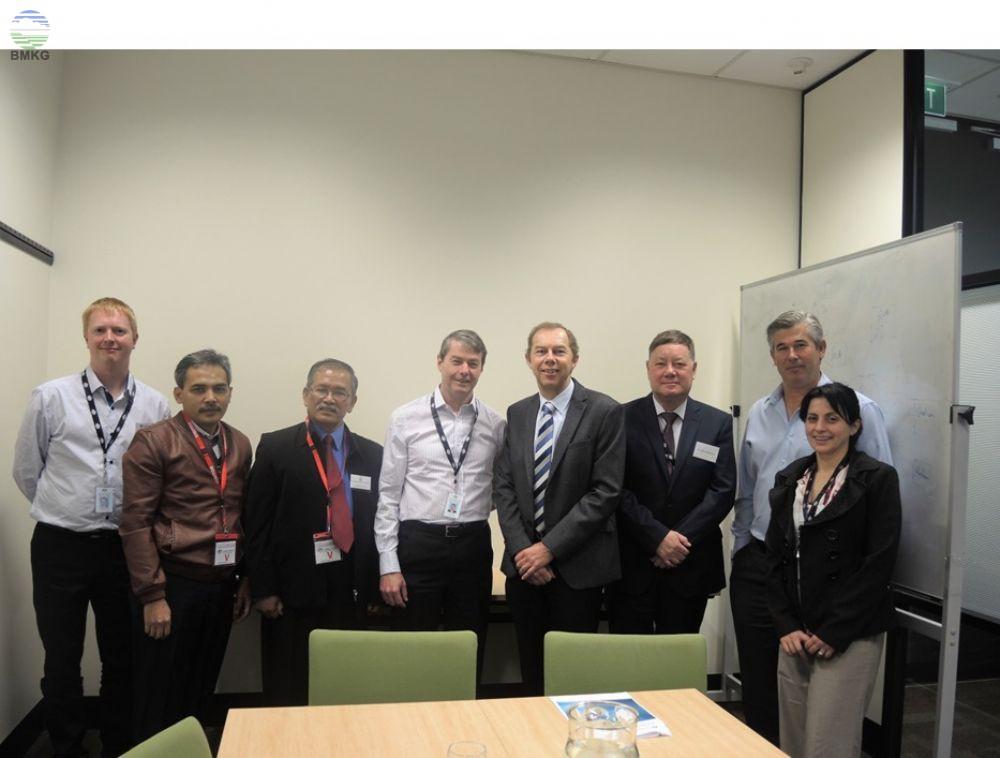 Kunjungan Tim Kalibrasi Peralatan Klimatologi dan Kualitas Udara BMKG Dalam Rangka Interkomparasi Peralatan Radiasi Matahari