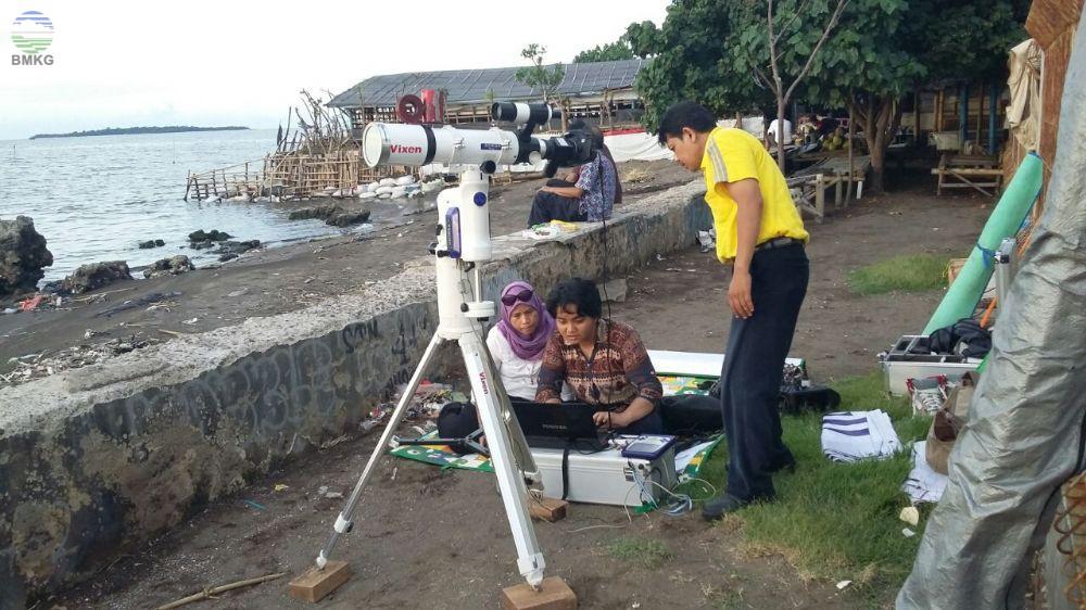 Stasiun Geofisika Tangerang Lakukan Pengamatan Hilal