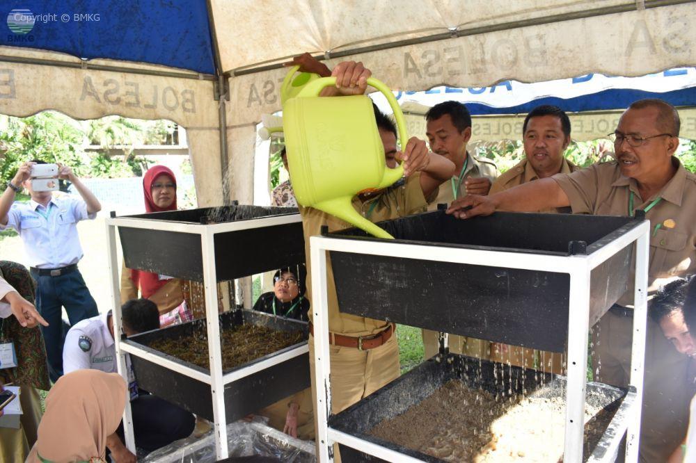 Sekolah Lapang Iklim Tahap II Provinsi Kepulauan Bangka Belitung
