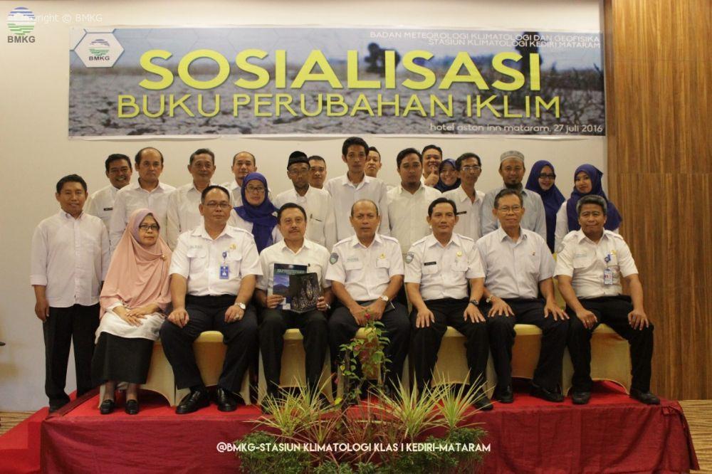 Sosialisasi Buku Perubahan Iklim Tahun 2015 di Provinsi Nusa Tenggara Barat