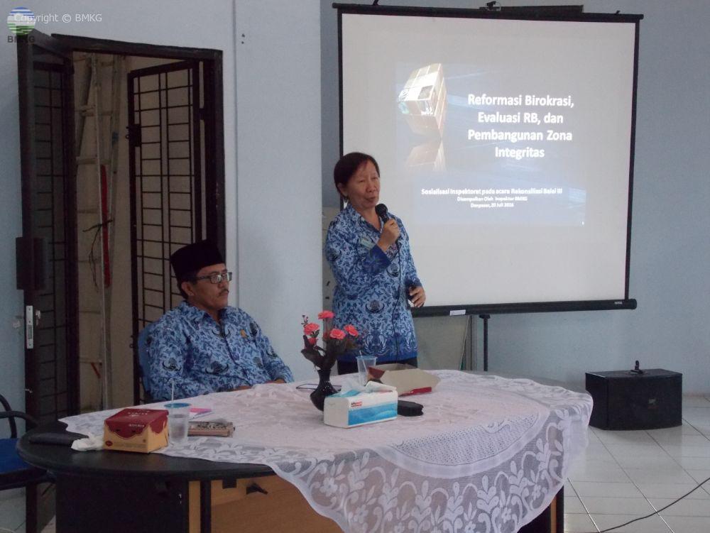 Upacara Peringatan Hut RI Ke-71 dan Sosialisasi Reformasi Birokrasi di BMKG Provinsi Jambi