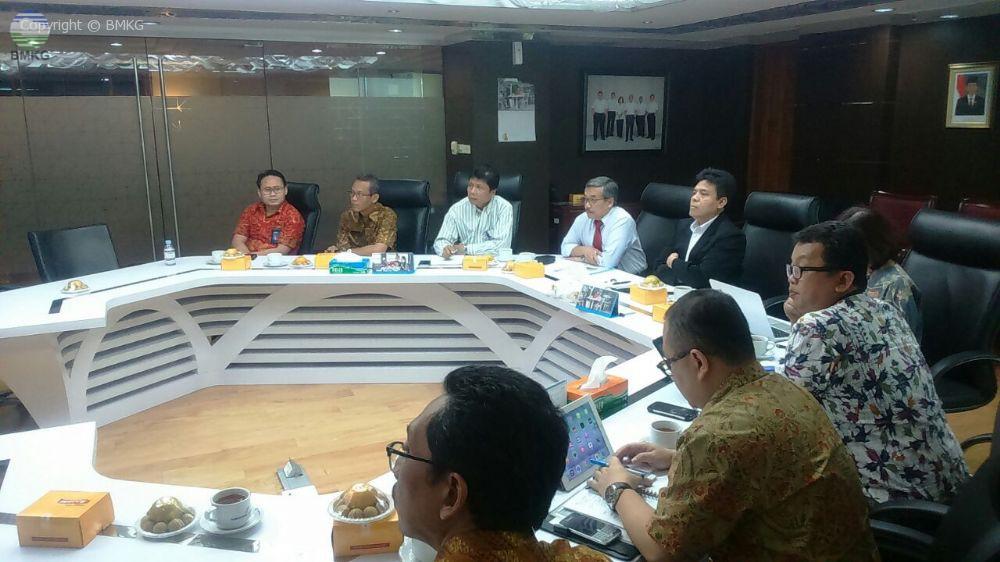 Rapat Koordinasi BMKG dengan Angkasa Pura I