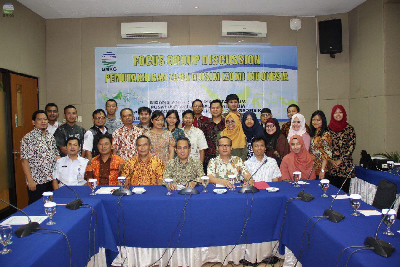 Focus Group Discussions Pemutakhiran Zona Musim di Indonesia