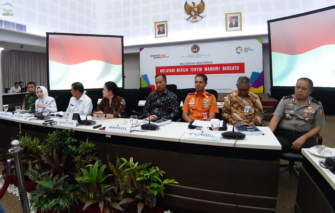 BMKG Mendukung Penuh Upaya Penguatan Penanganan Bencana di Indonesia