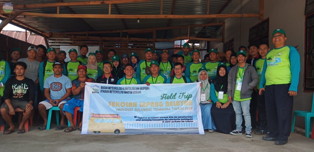 Sekolah Lapang Nelayan Provinsi Sultra Tahun 2019